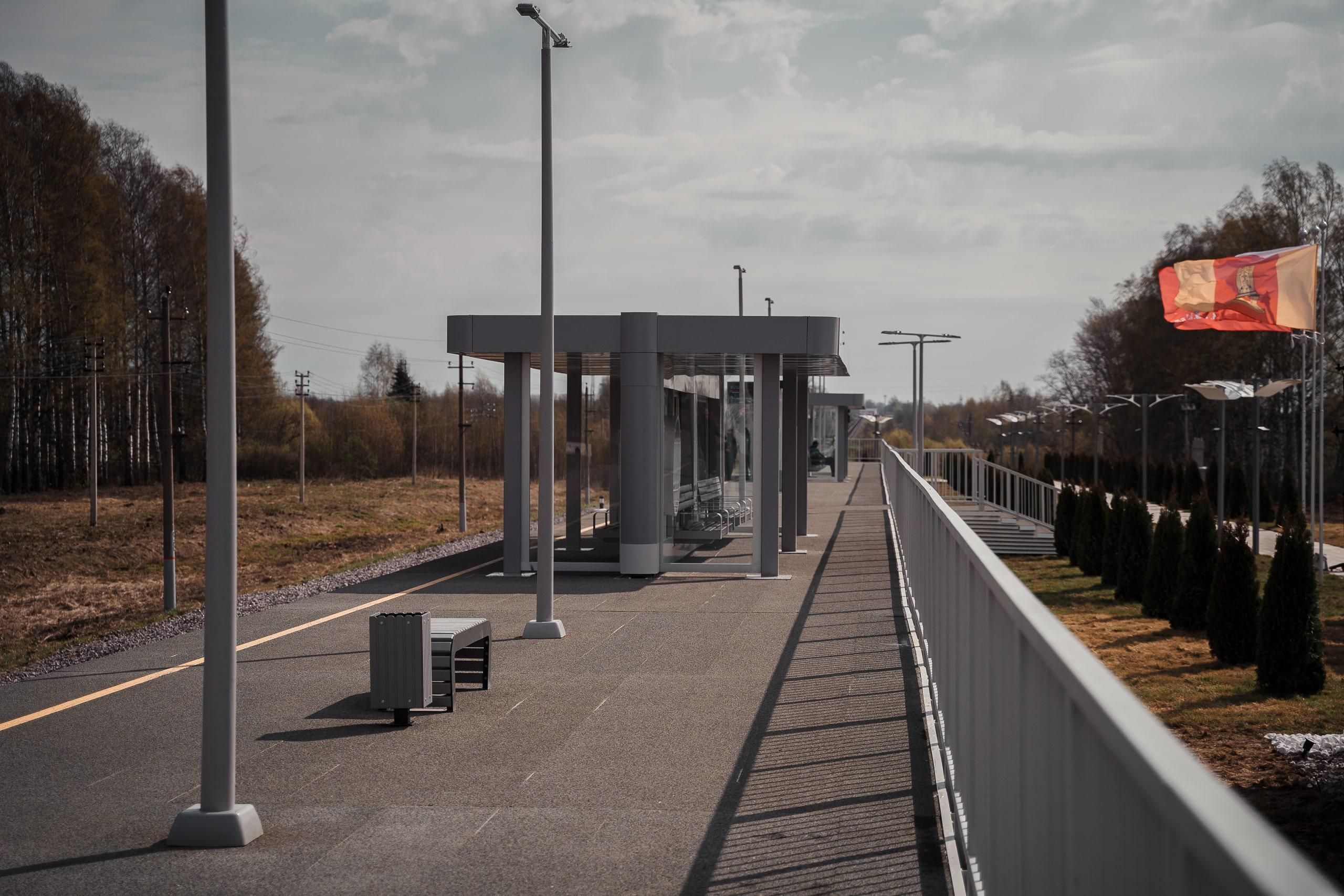 Пешеходную дорожку от платформы «Ржевский мемориал» до мемориала Советскому солдату планируют сдать в 2021 году