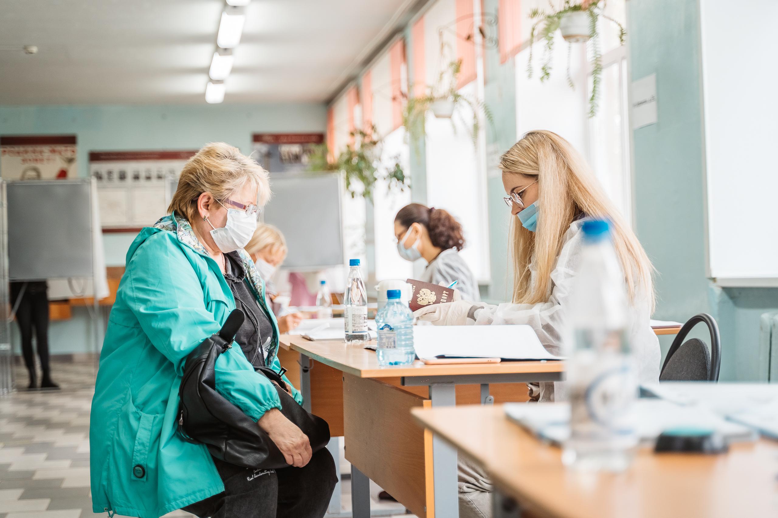 В первый день на выборах в Тверской области проголосовали больше 13% избирателей