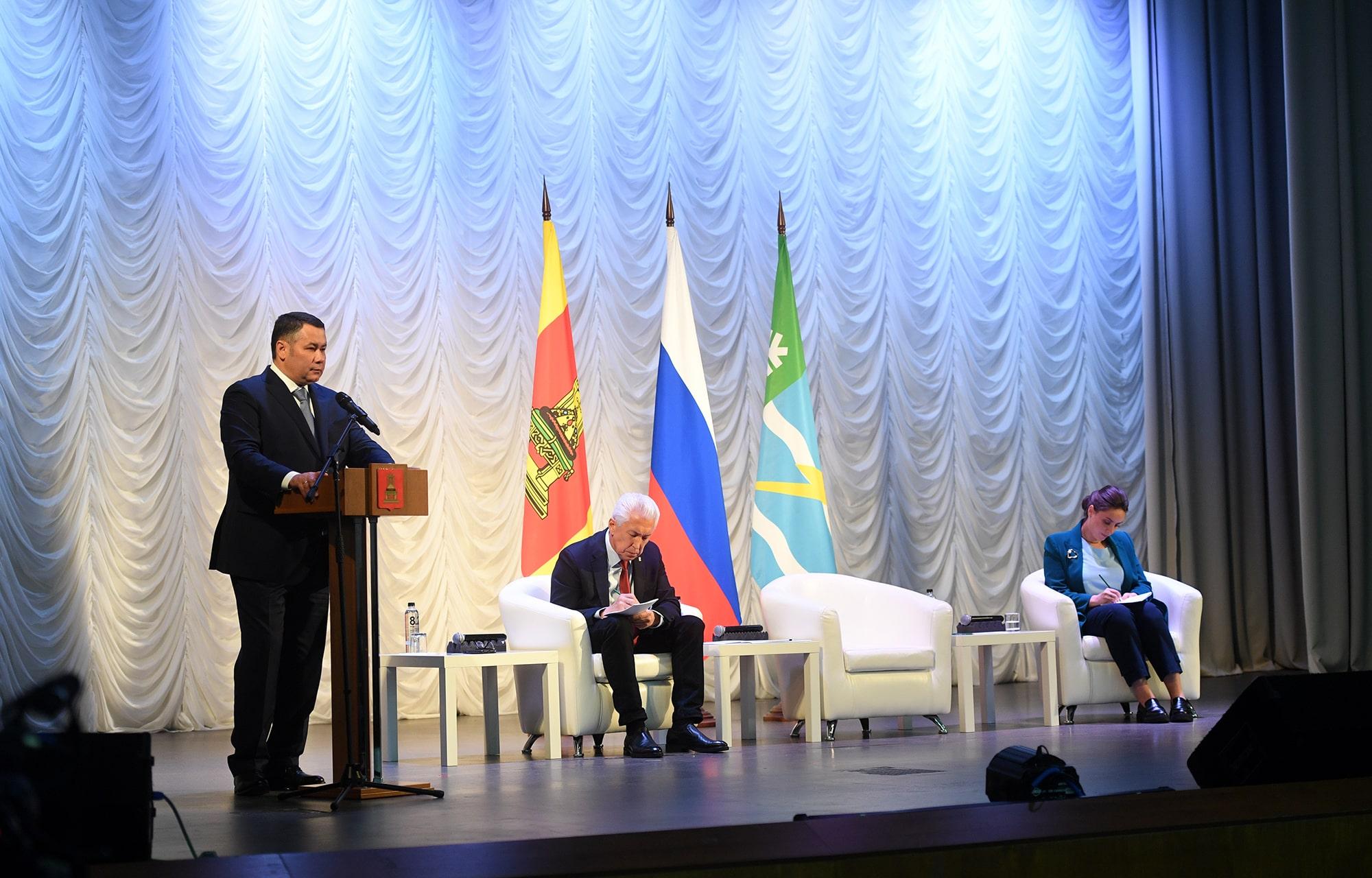 Игорь Руденя: Принято решение газифицировать всю территорию Конаковского района