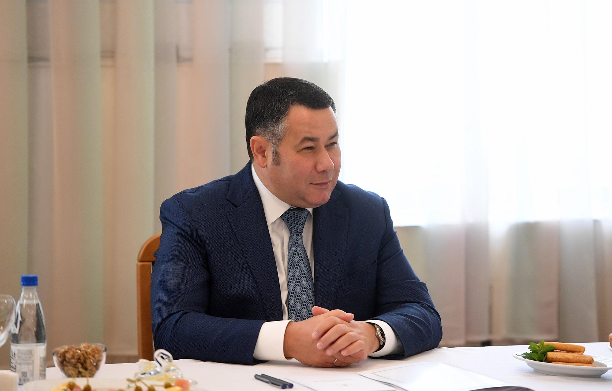 Игорь Руденя встретился с многодетными и молодыми семьями ЗАТО Озерный