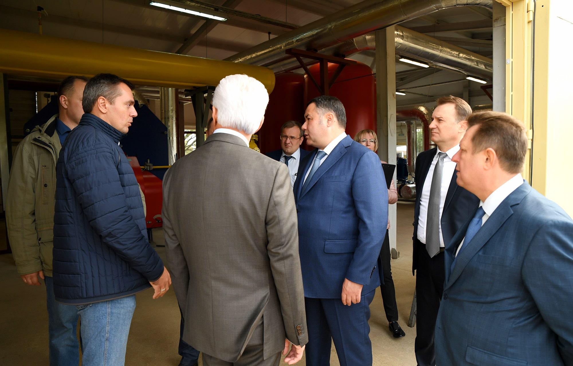 В городе Бологое вводят в эксплуатацию новую газовую котельную