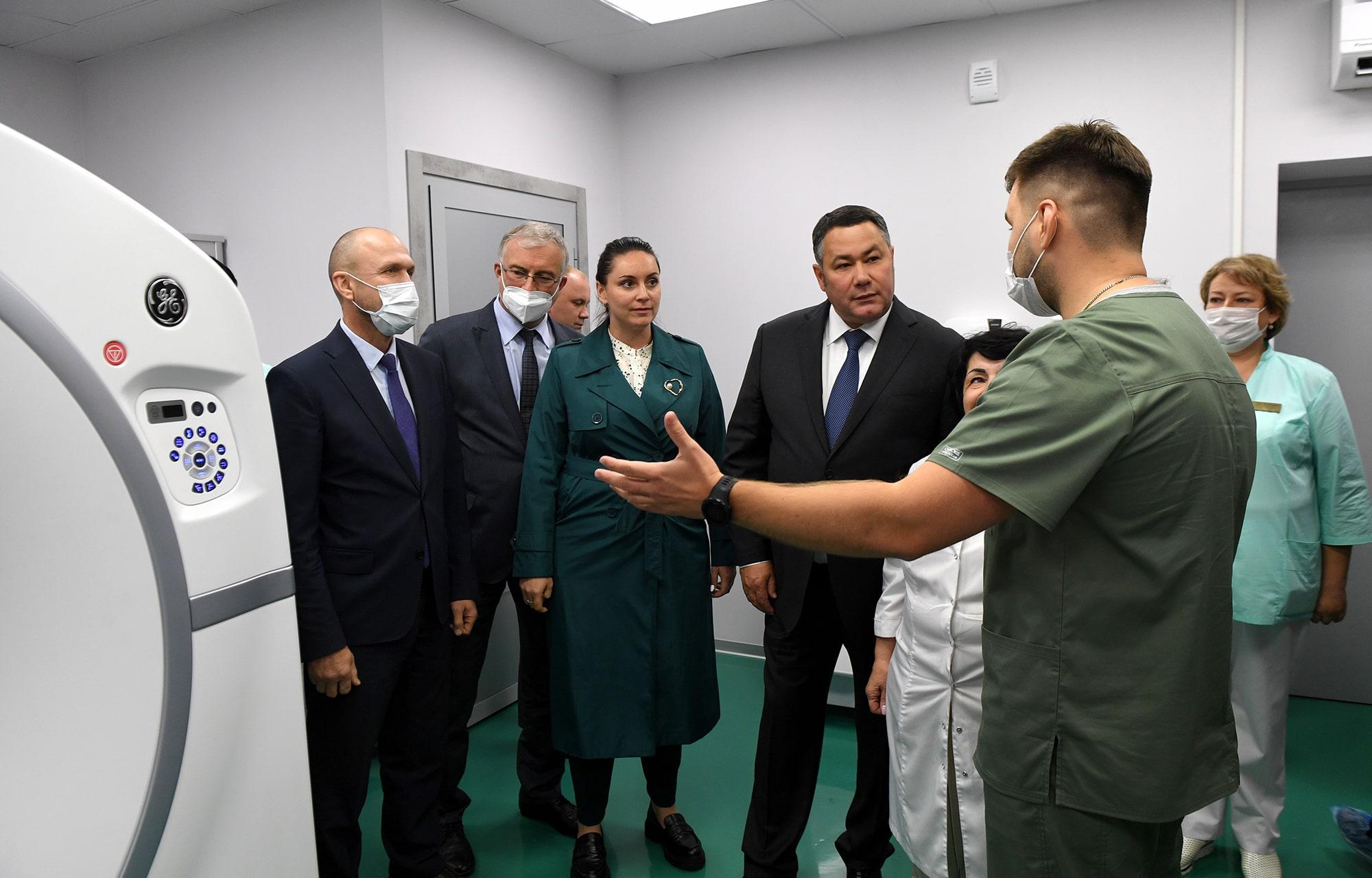 Первый тверской Центр амбулаторной онкопомощи принял полтысячи пациентов