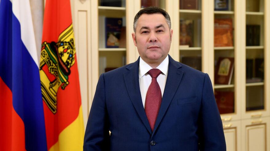 На имя Игоря Рудени поступают поздравления со вступлением в должность губернатора