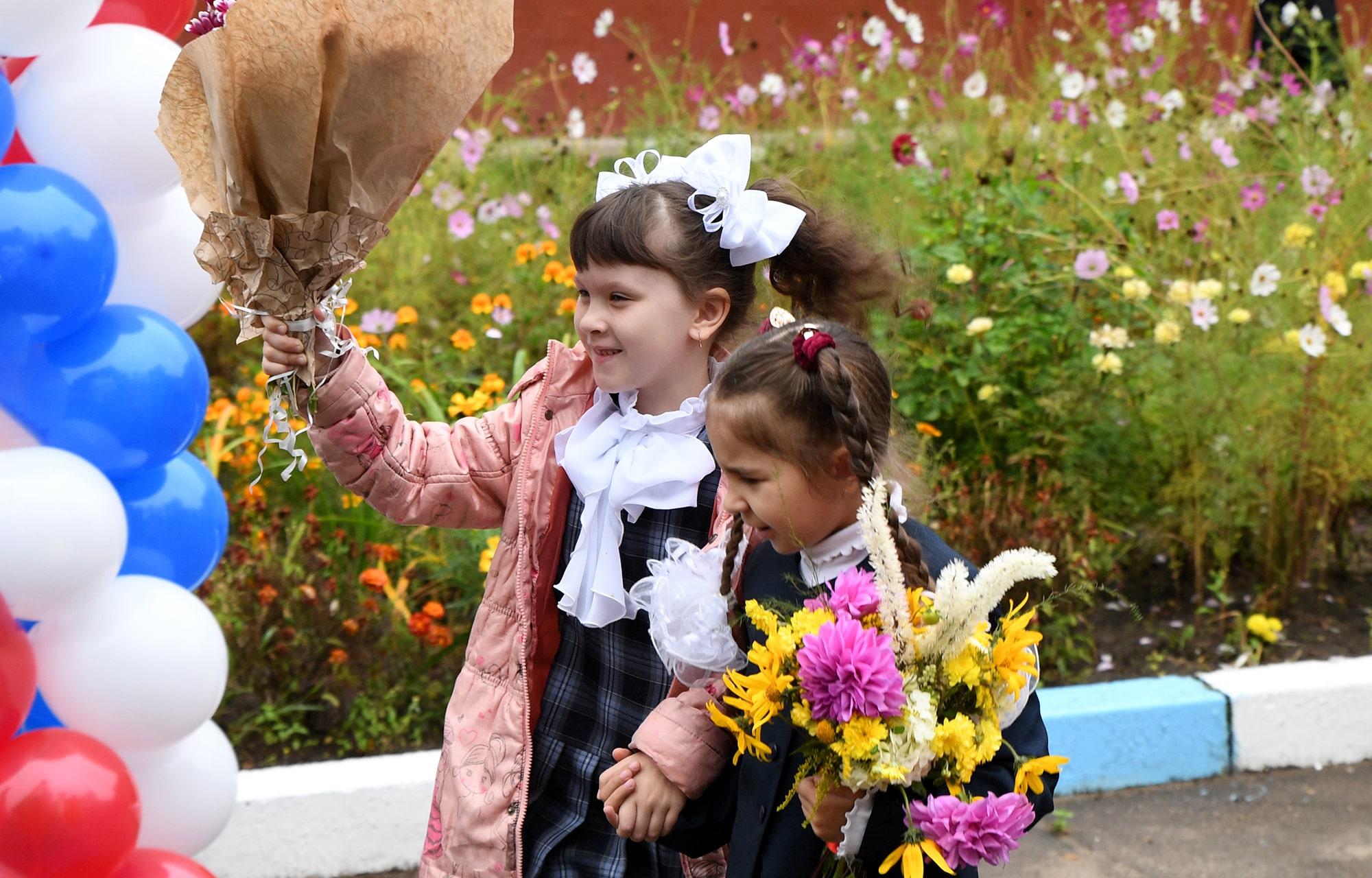В Тверской области первый школьный звонок прозвенел почти для 15 тысяч первоклассников