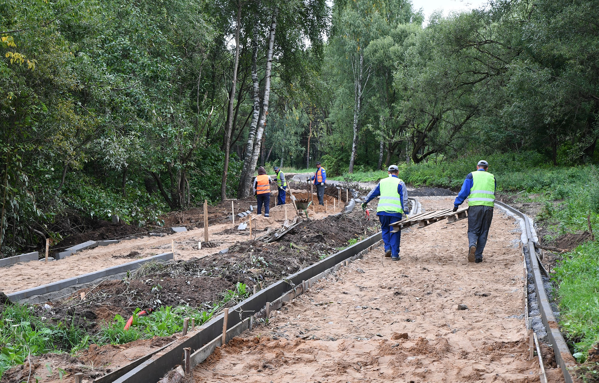Работы по благоустройству набережной в Конаково планируют завершить в сентябре