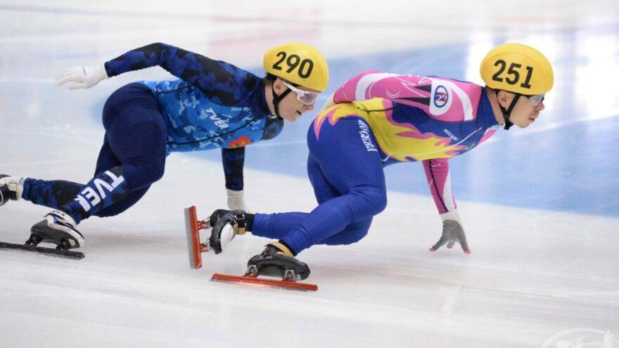Даниил Ейбог из Твери стал дважды победителем Кубка Союза конькобежцев России