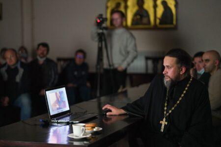 В Твери иеромонах показал два фильма из своего нового проекта