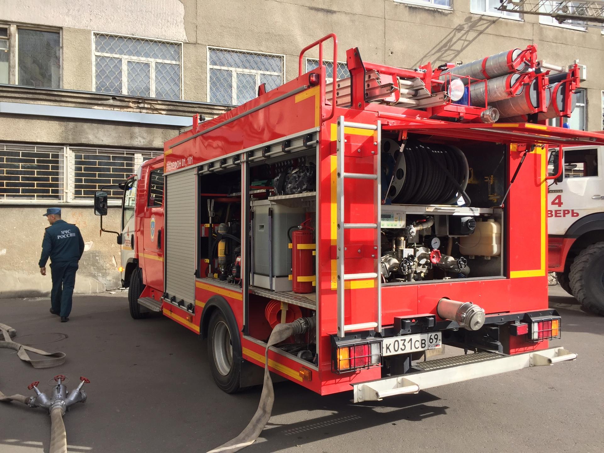 Почта России провела пожарно-тактические учения в Твери