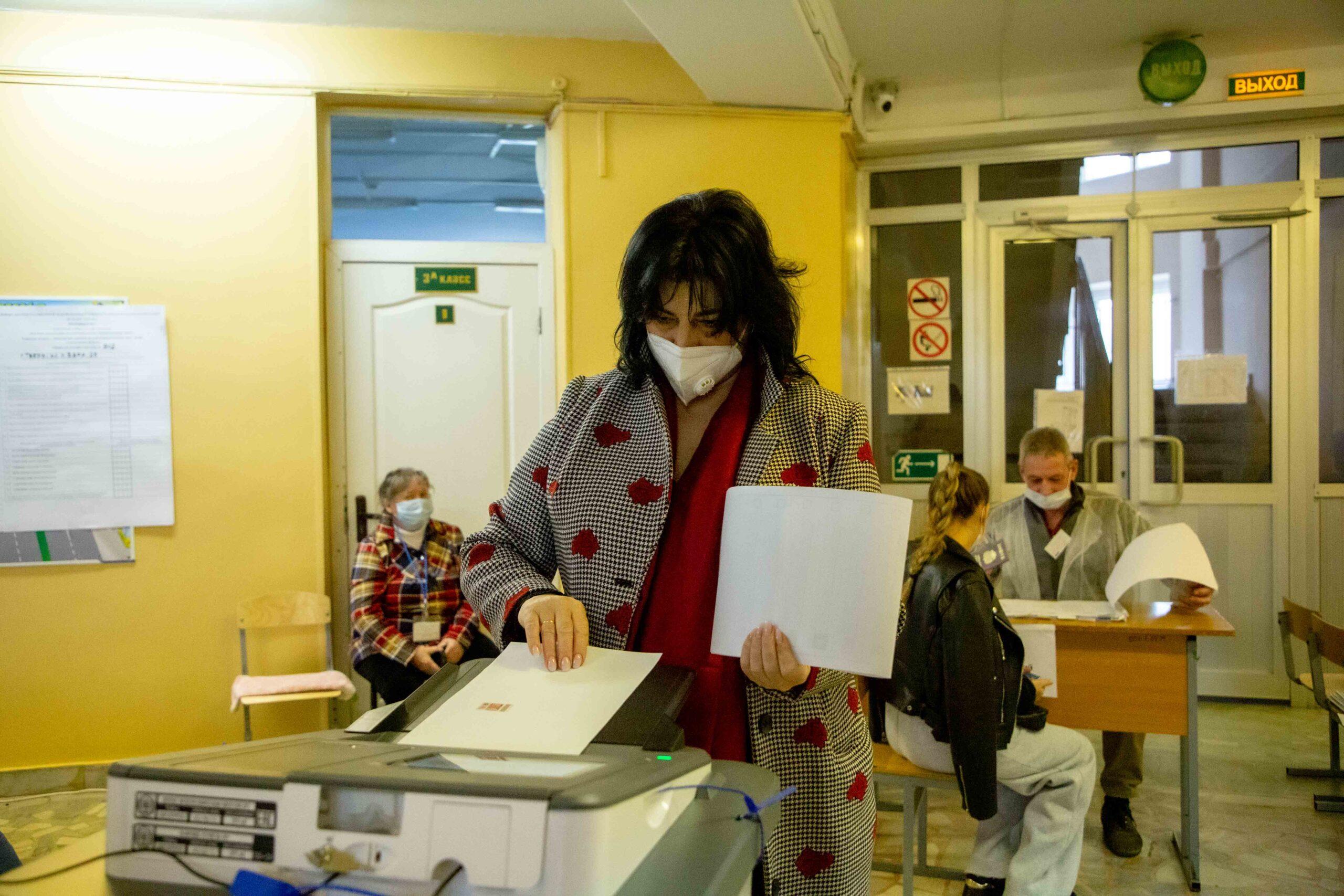 """Ирина Шереметкер: """"Теперь всё зависит от избирателей, которые определяют будущее своими голосами"""""""