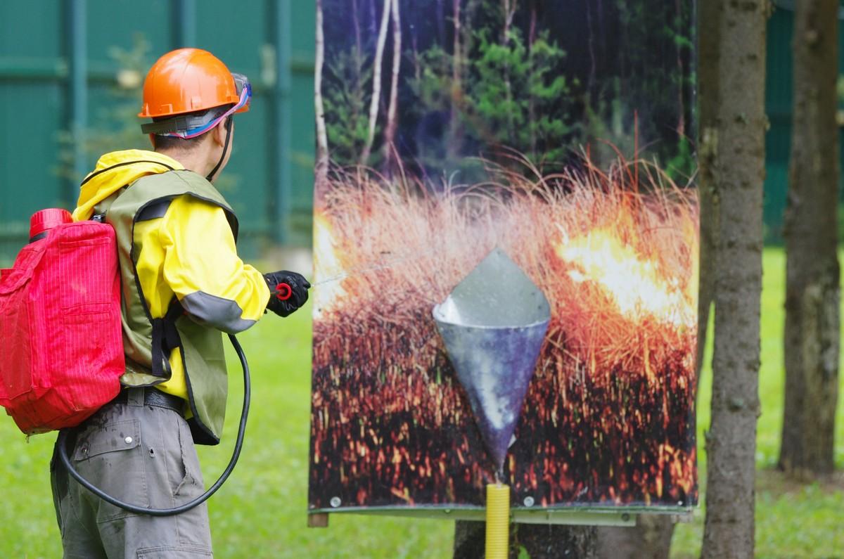 Представитель Тверской области завоевал бронзу на всероссийском конкурсе «Лучший лесной пожарный России 2021»