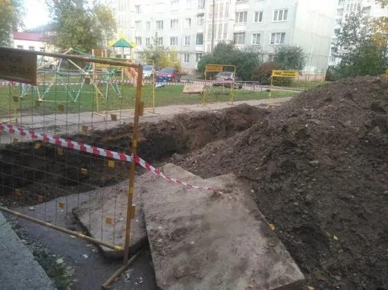 Власти Твери дали комментарий по поводу опасных бетонных плит