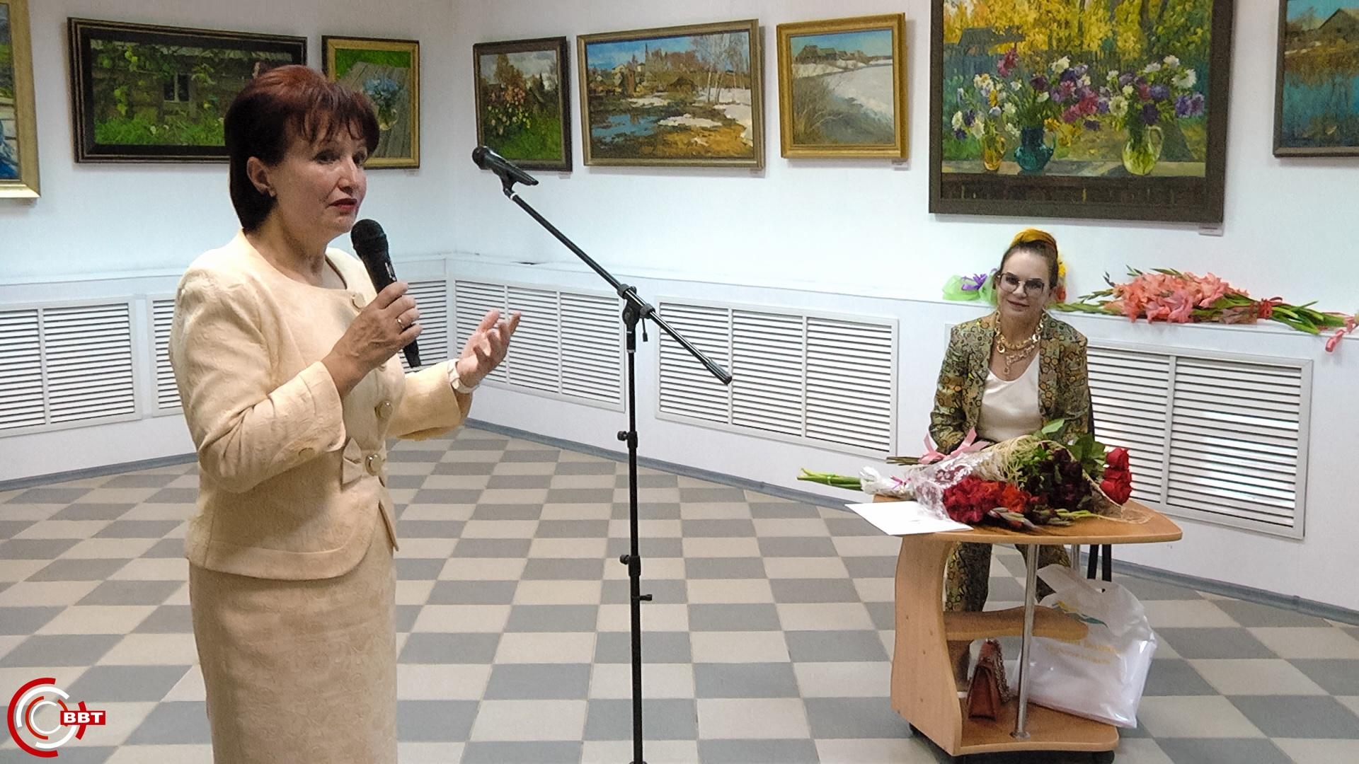 Выставка пейзажа открылась в Вышнем Волочке