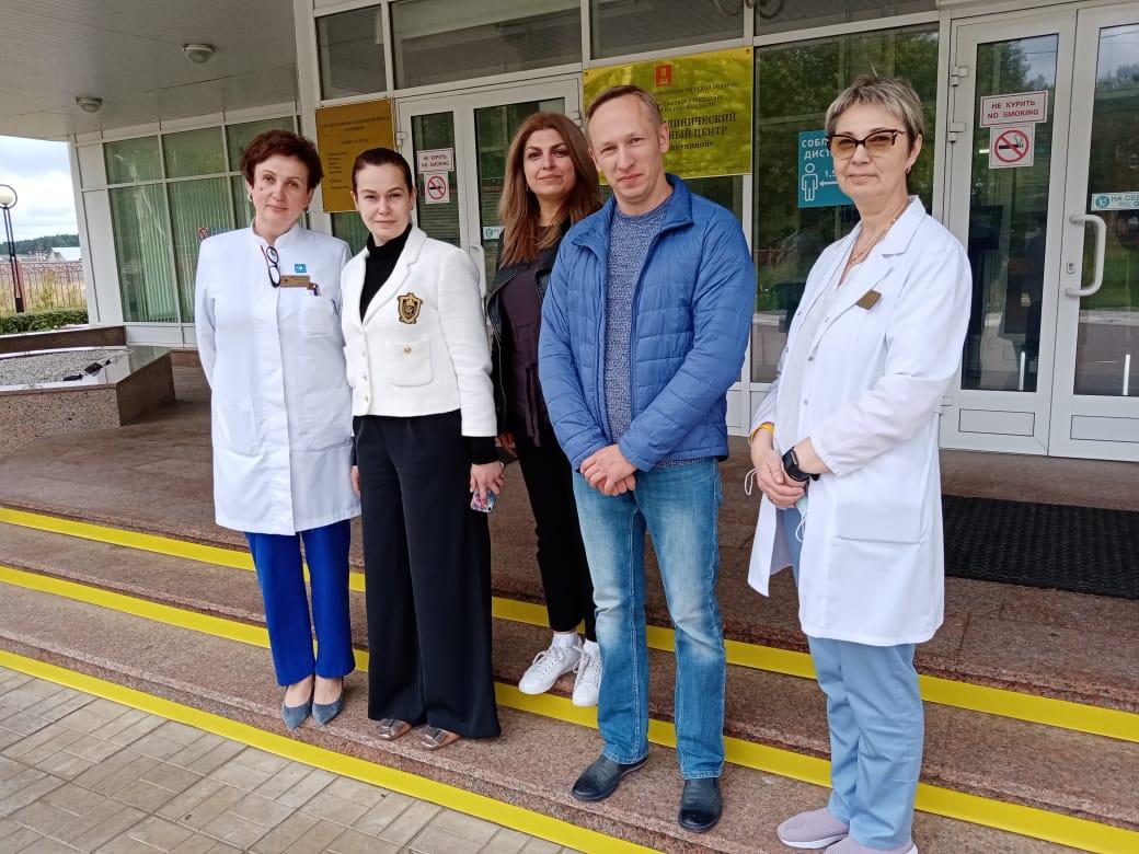 Московские врачи из Центра Бакулева провели обследование пациентов Перинатального центра в Твери