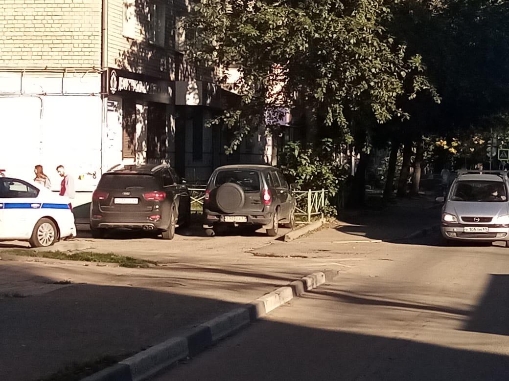 Ребёнок попал под колёса машины в Твери