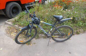 Велосипедист попал под колёса машины в Тверской области