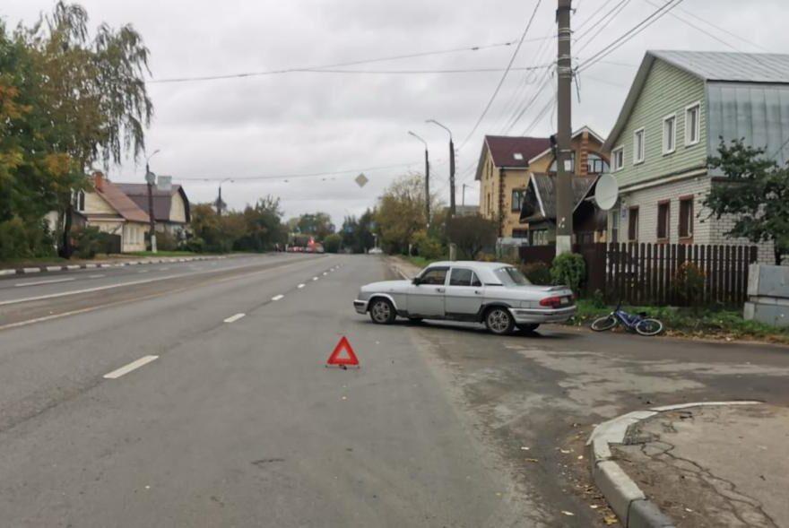 13-летняя велосипедистка попала под колёса ГАЗа в Твери