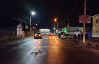 Лексус сбил молодого мужчину на пешеходном переходе в Тверской области