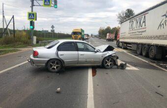 Пьяный водитель пострадал в тройном ДТП в Тверской области