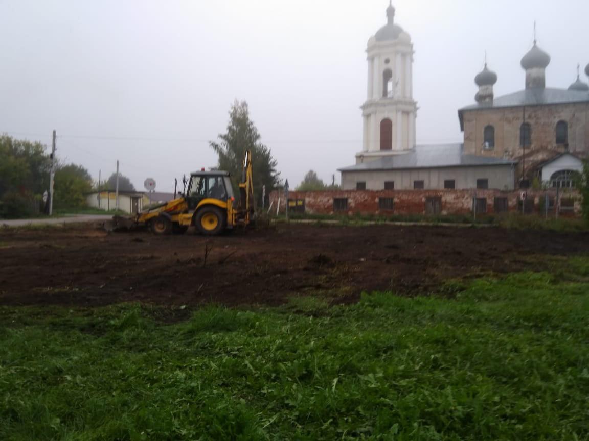 В селе под Тверью жители обнаружили новое общественное пространство