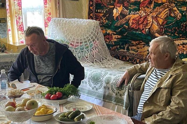Гарик Сукачев снимает новый музыкальный фильм в Тверской области