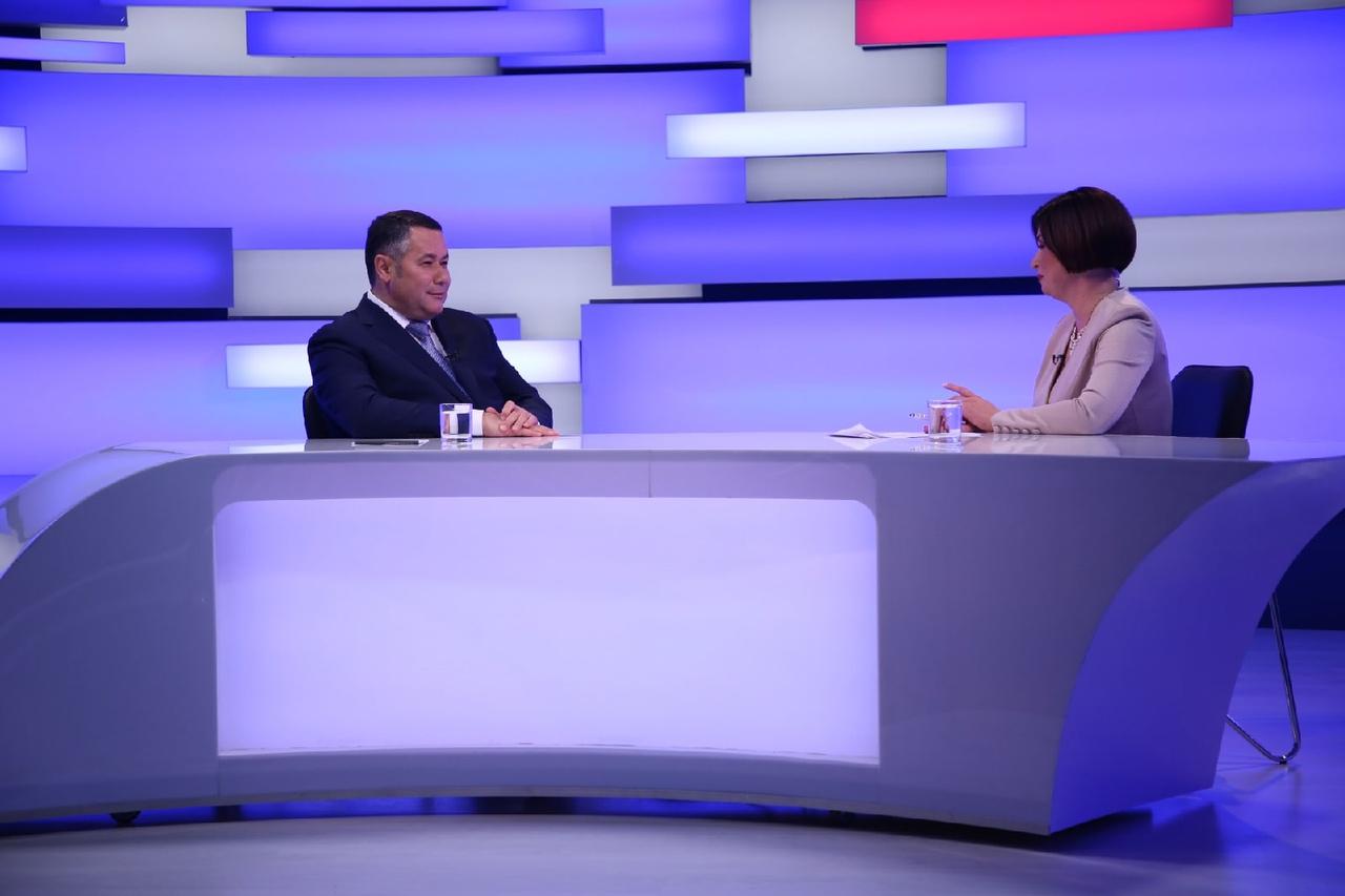 Стратегия развития и ЦАОП: губернатор Игорь Руденя выйдет в прямой эфир