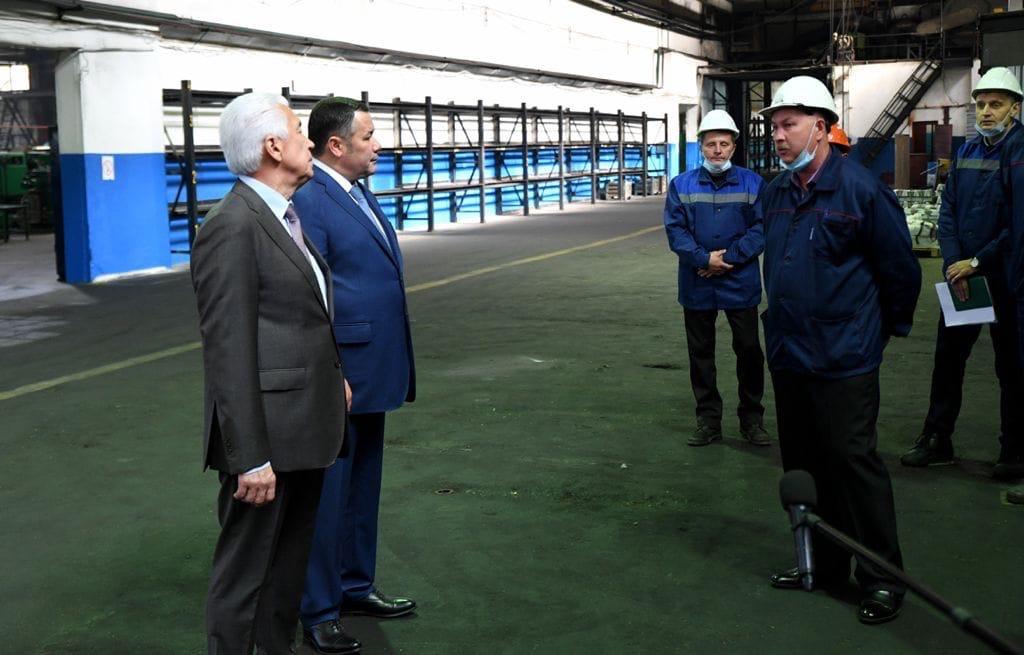 Игорь Руденя встретился с коллективом Бологовского арматурного завода