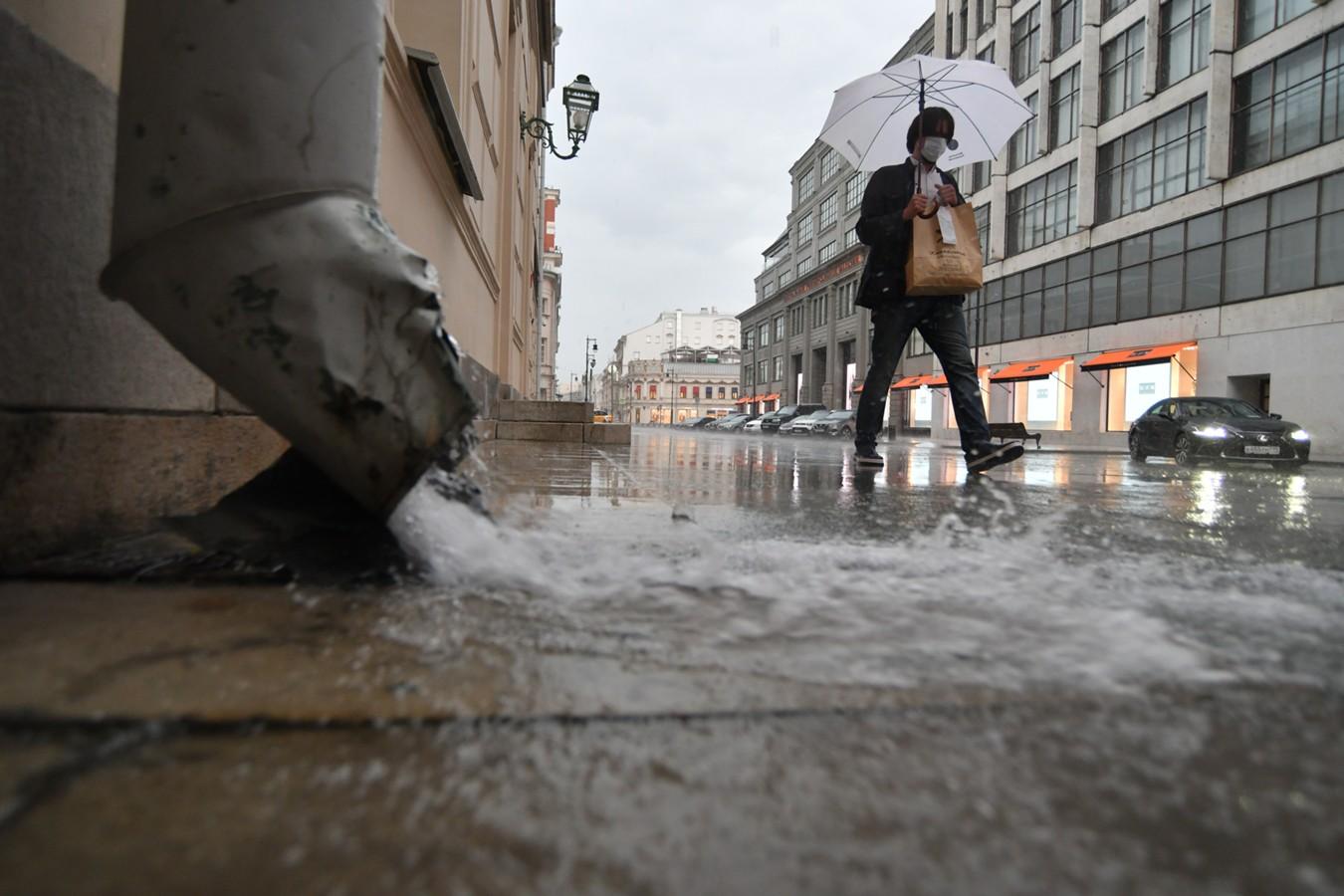 МЧС предупреждает: сильный дождь надвигается на Тверскую область