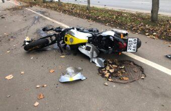 После аварии в Твери, в которой погиб молодой мотоциклист, возбудили уголовное дело