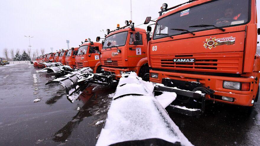 704 единицы спецтехники задействуют в зимнем содержании дорог Тверской области