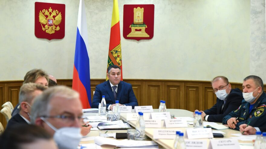 В Тверской области продолжают действовать усиленные меры по профилактике распространения коронавируса