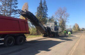 В Тверской области по просьбам жителей ремонтируют Торопецкий тракт